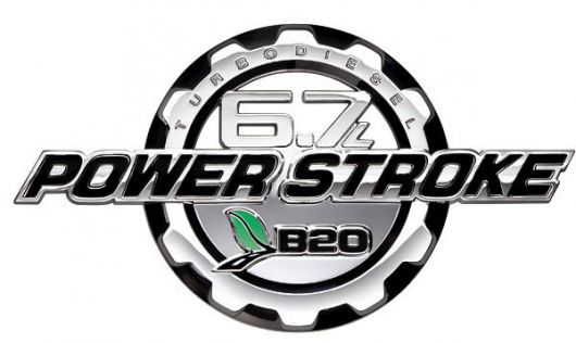 6 7 power stroke b20 ford emblem