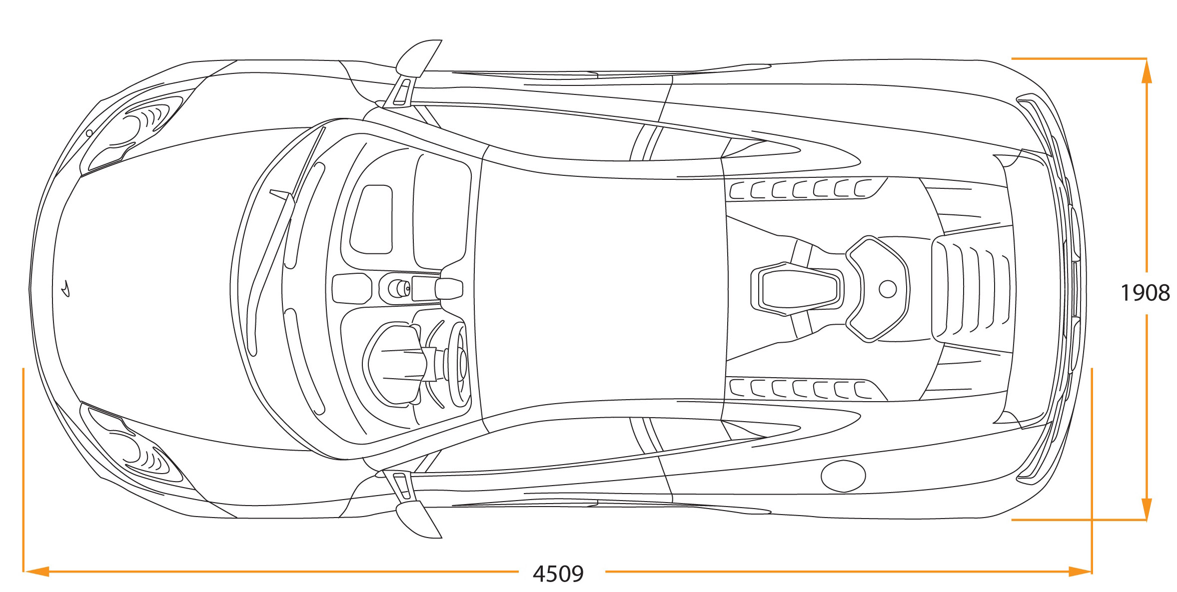 mclaren_mp4_12c_11_draw_top Outstanding Lamborghini Countach 25th Anniversary '88 Cars Trend