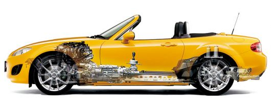 mazda mx5 roadster cut away 08