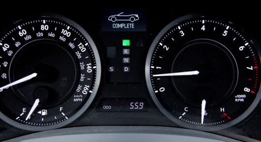 lexus is 350c cluster 10