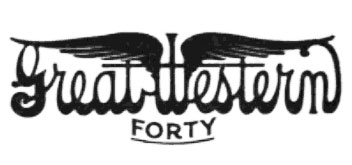 great western forty logo