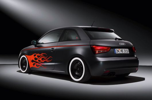 audi a1 hot rod daytona gray 1 10