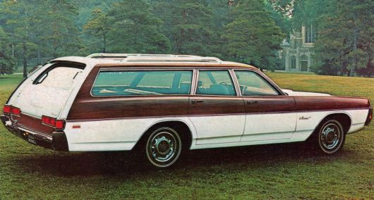 dodge monaco station wagon 71