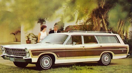 ford country sedan station wagon 67