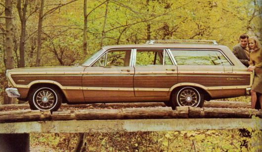 ford fairlane wagon 67