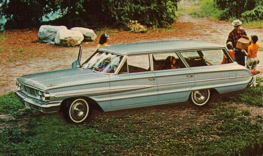 ford galaxie 500 country wagon 64