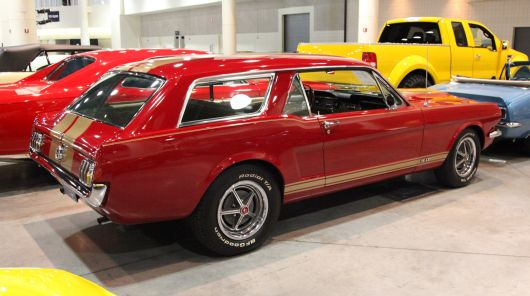 ford mustang wagon 68
