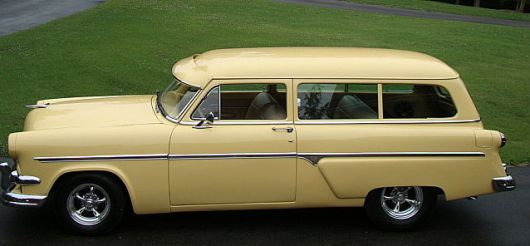 ford wagon 54