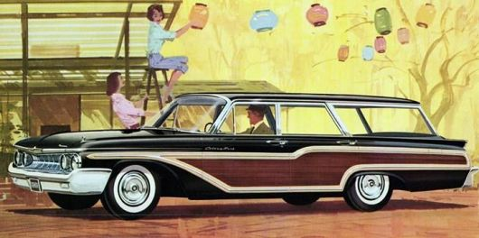 mercury colony park wagon 61