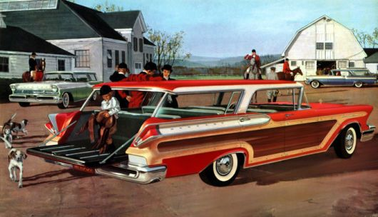 mercury colony park wagon 57