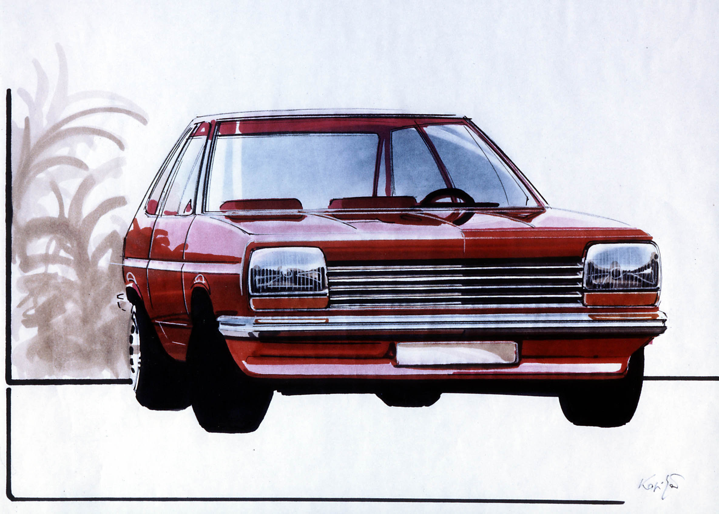 Ford Fiesta 1976 Cartype