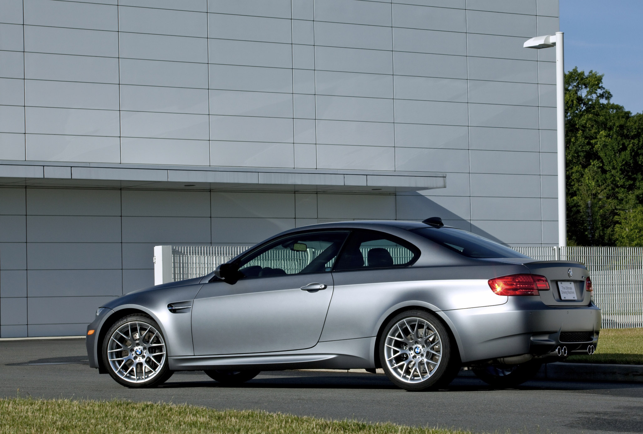 Bmw frozen gray m3 coupe 2011 limited