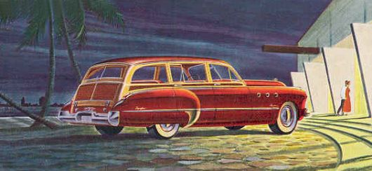 buick estate wagon 49