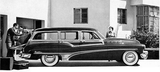 buick roadmaster estate wagon 50