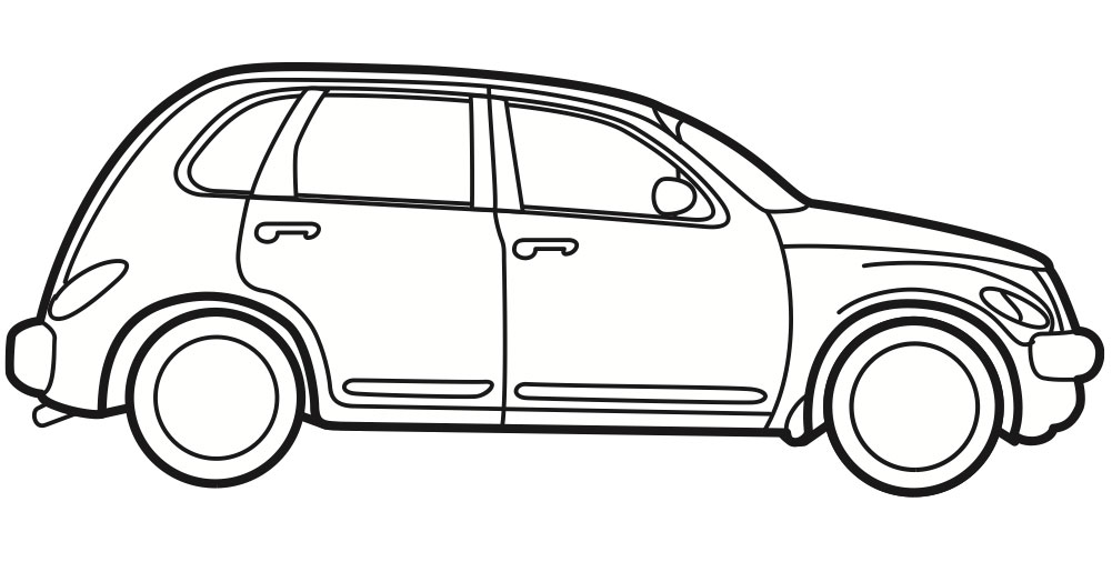 Car Line Art | Cartype