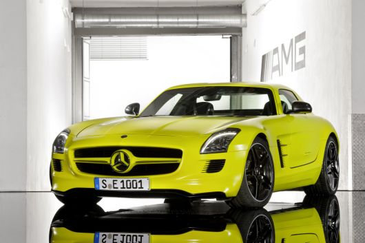 mercedes benz sls amg e cell 13 05