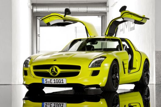 mercedes benz sls amg e cell 13 07