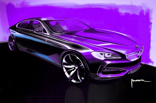 bmw grand coupe sketch 02