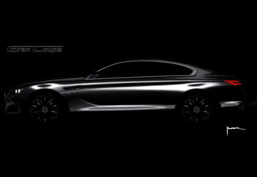 bmw grand coupe sketch 04
