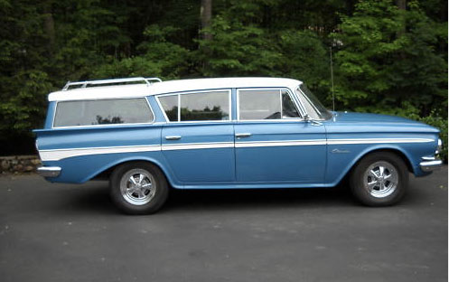 amc rambler classic stationwagon 61