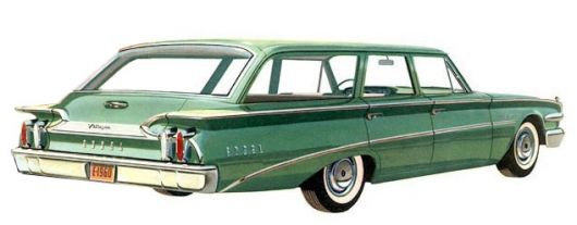 edsel villager wagon 60