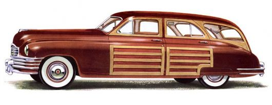 packard eight wagon 48