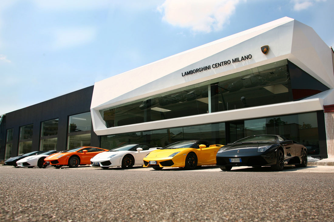 Lamborghini Centro Milano Newest Dealership Cartype - Lamborghini car dealership