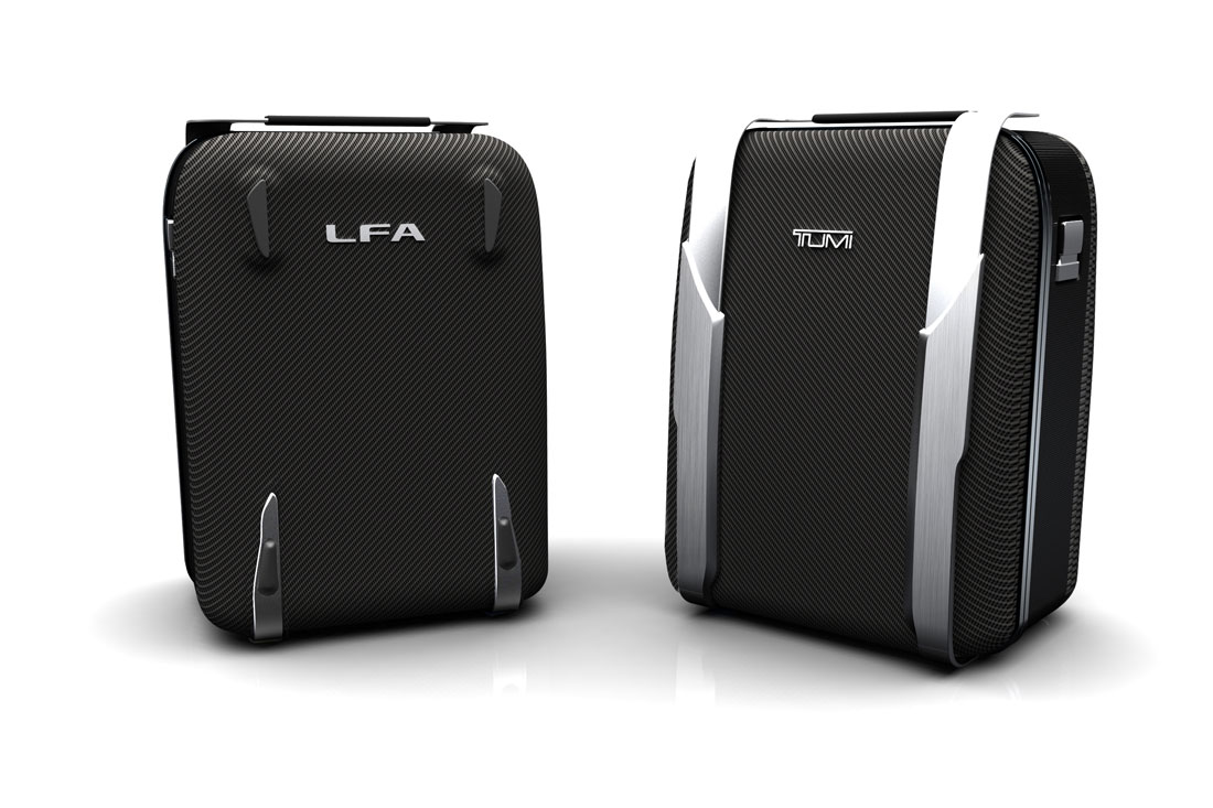 Lexus and Tumi Partner to Create Premiere Custom Luggage for 2012 ...