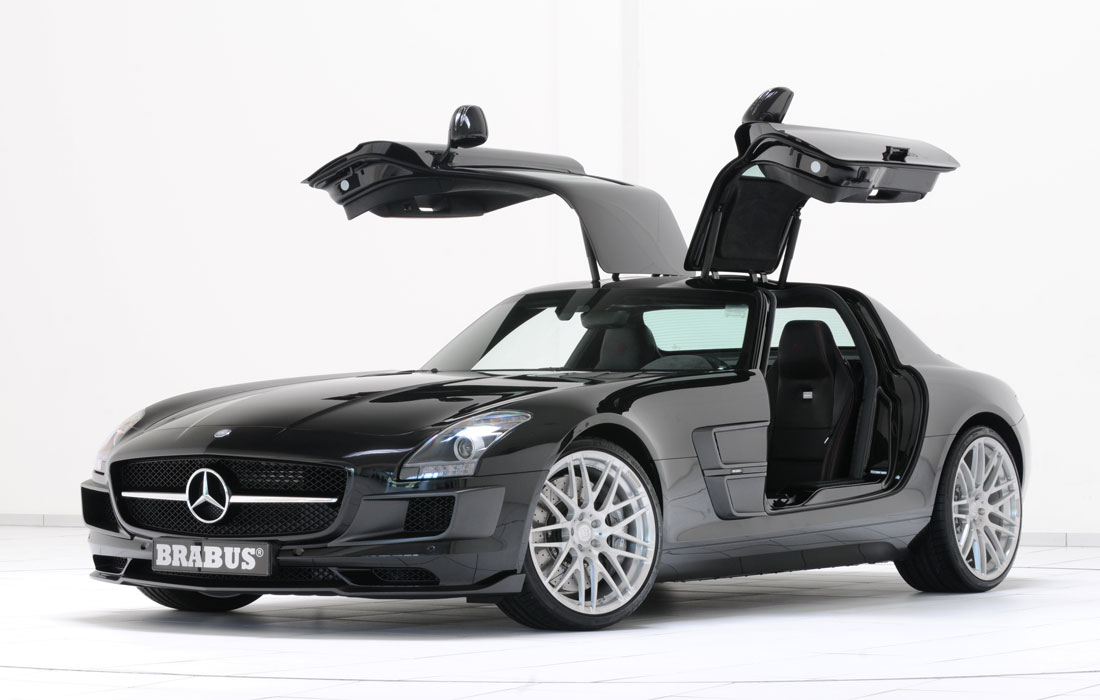 Brabus refines the mercedes sls amg cartype for Mercedes benz brabus amg