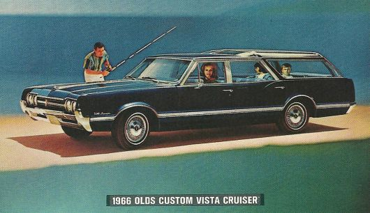 oldsmobile custom vista cruiser 66