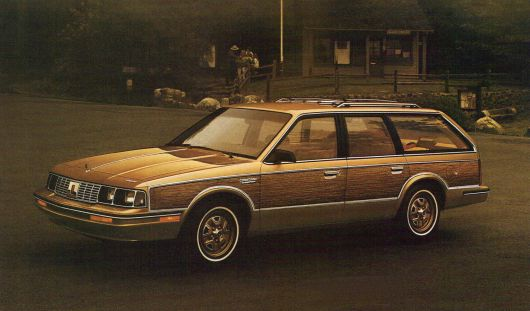 oldsmobile cutlass cruiser wagon 86