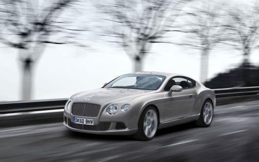 bentley continental gt 11 07