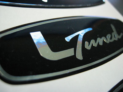 l tuned decal
