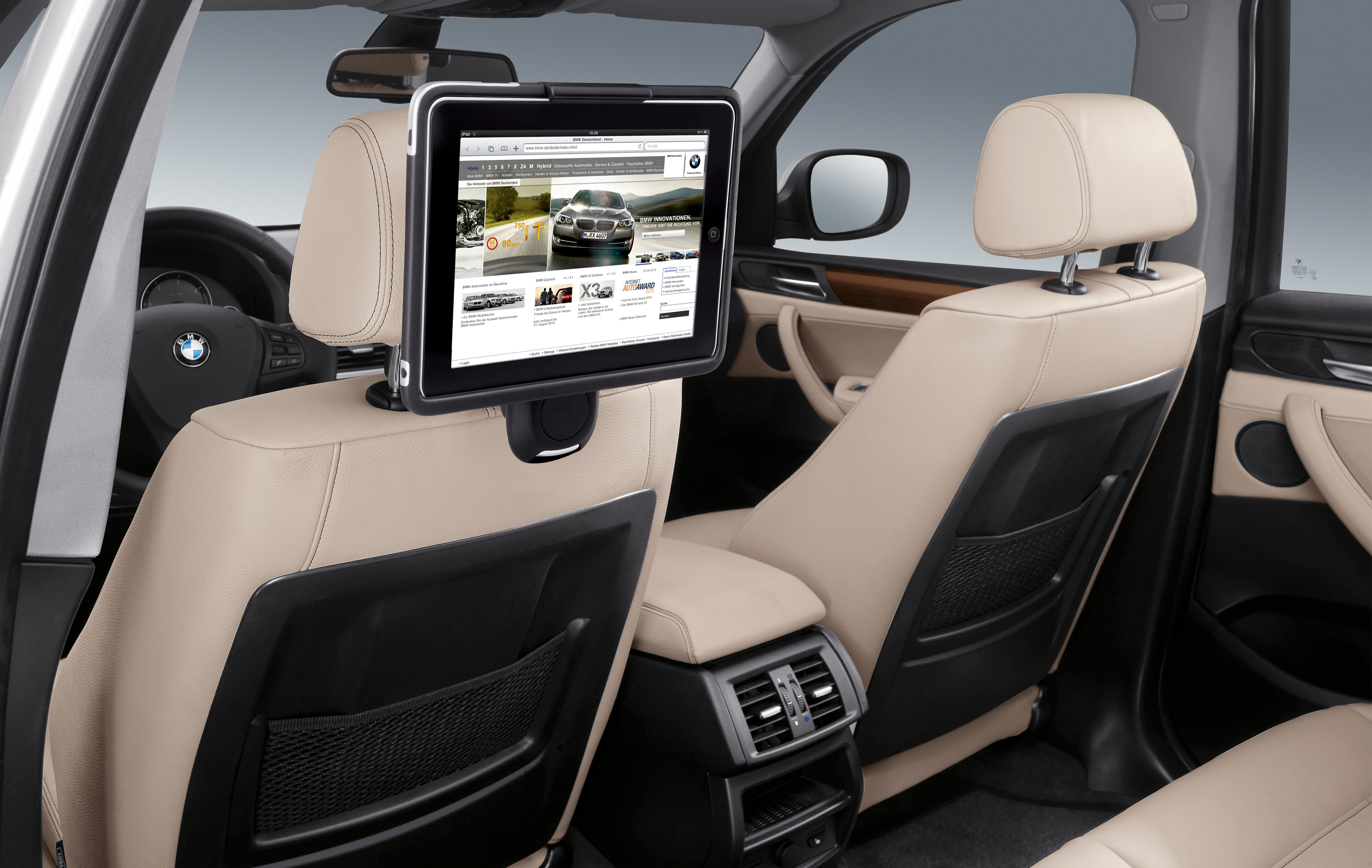 bmw and the ipad cartype. Black Bedroom Furniture Sets. Home Design Ideas
