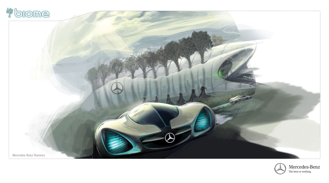 Exceptionnel Mercedes Benz Biome 10 01