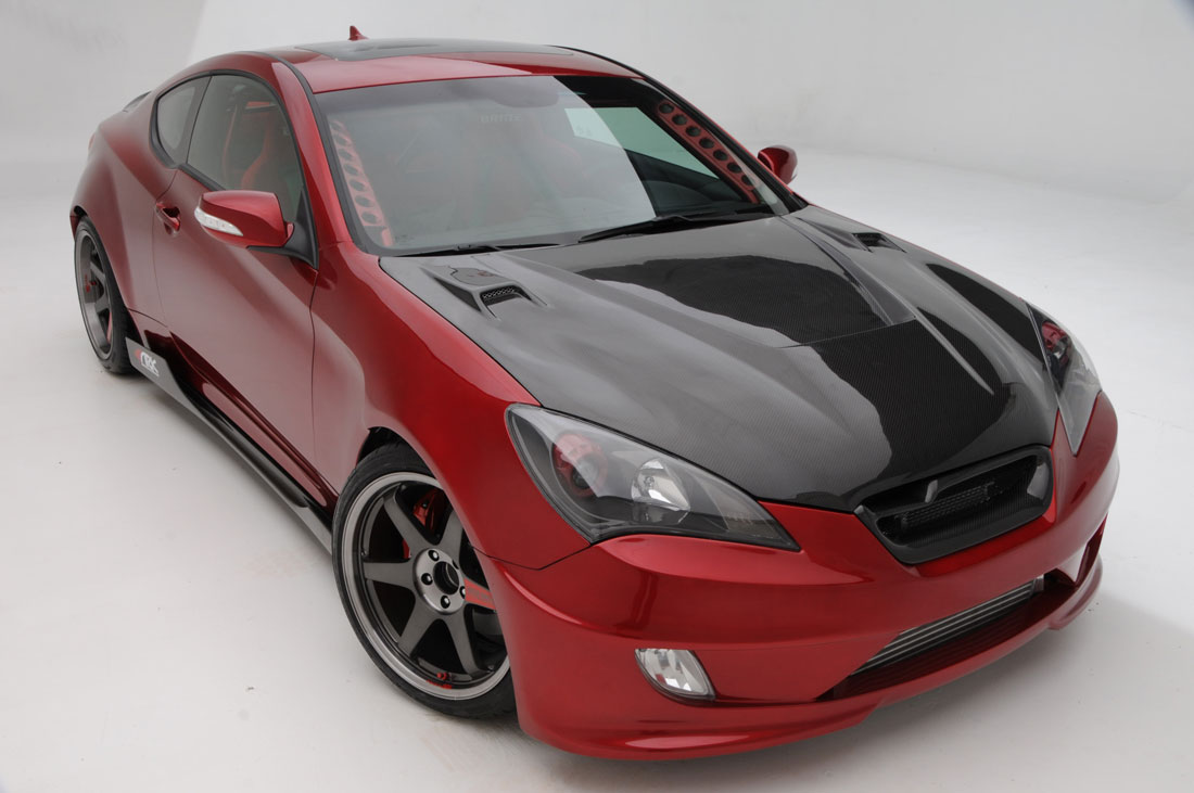 Superior Hyundai North >> Hyundai ARK Genesis Coupe : 2010 | Cartype