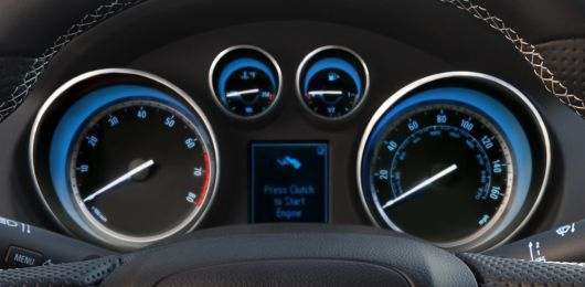 buick regal gs cluster 12