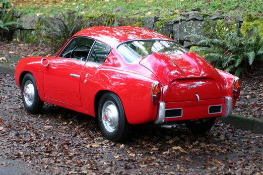 fiat 750 abarth zagato double bubble 1 58