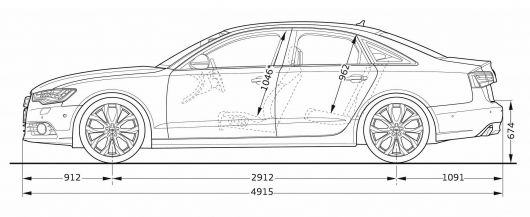 Car Line Art Cartype - Audi car drawing