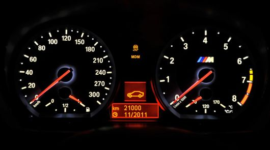 bmw 1 series m coupe gauge cluster 11