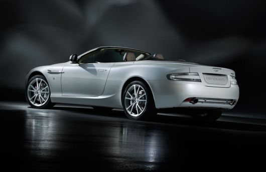 aston martin db9 volante morning frost 2 11