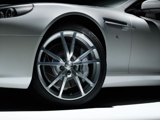 aston martin db9 volante morning frost wheel 11