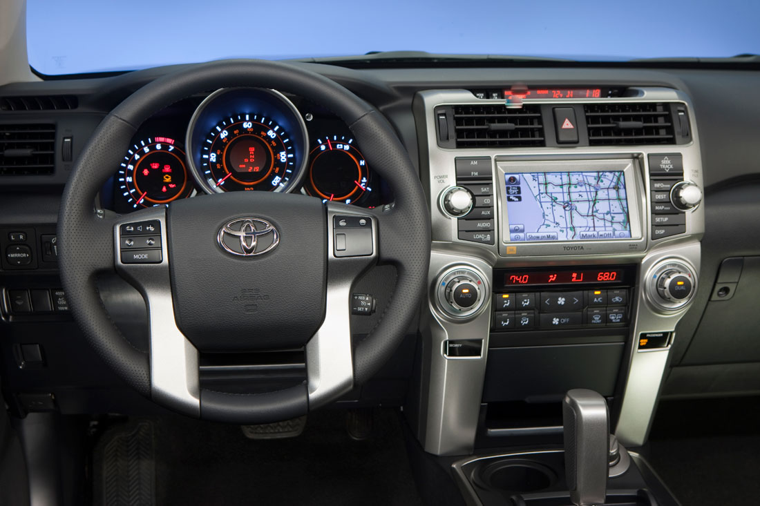 Toyota 4runner  2011 on 2012 tundra dash
