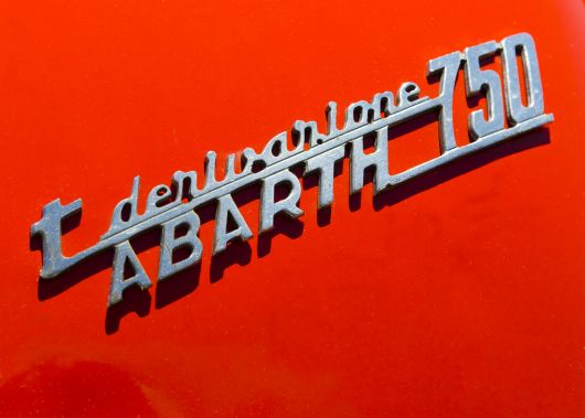 abarth 750 emblem flickr r gust smith