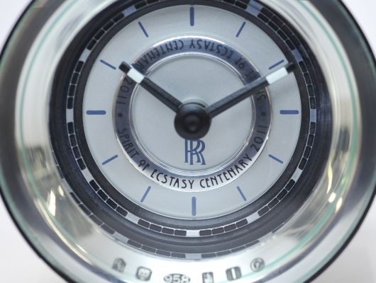 rolls royce spirit of ecstasy centenary collection clock 11