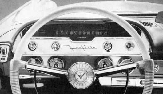 chrysler imperial gauge cluster 57