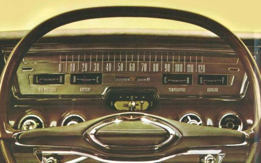 chrysler imperial gauge cluster 61