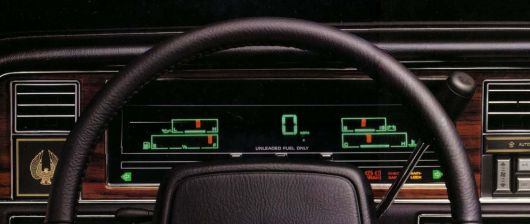 chrysler imperial gauge cluster 90
