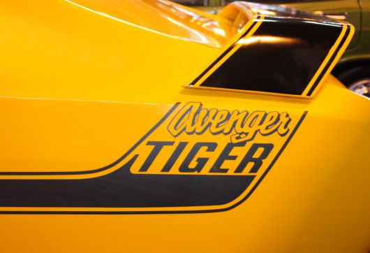 hillman avenger tiger decal 73