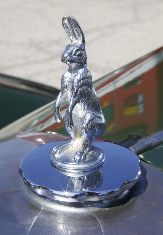 alvis holbrook sedan hood ornament 38